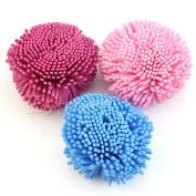 MINEJ - Loofah Soft Felling & Easy Exfoliation Bath Shower EVA Sponge Brush Puff Ball