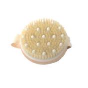MINEJ - Round Exfoliating Body Brush Shower Bristles Spa Scrub Bath Massage Scrubber