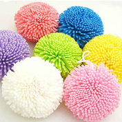 10 Pcs Natural Bath Ball Comfortable Sponge Easy Cleaning For Man Bathroom Accessories Tools Items Flower