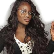 Ten Chopstics Wig 360 180% Density Lace Frontal Closure Wavy 100% Human Hair Brazilian Wigs for Black Women Bleached Knots Natural Baby Hair