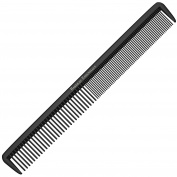 """Styling Comb - Professional 8.75"""" Black Carbon Fibre Anti Static Chemical And Heat Resistant Hair Combs For All Hair Types - By Bardeau Essentials"""