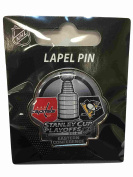 Washington Capitals Pittsburgh Penguins 2016 NHL Playoffs Duelling Lapel Pin