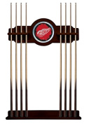 Detroit Red Wings Cue Rack in English Tudor Finish