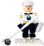 NHL Buffalo Sabres Jack Eichel GEN 2 Limited Edition Minifigure, Small, Black