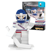 NHL New York Rangers Henrik Lundqvist GEN 2 Limited Edition Minifigure, Small, Black