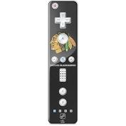 NHL Chicago Blackhawks Wii Remote Controller Skin - Chicago Blackhawks Distressed Vinyl Decal Skin For Your Wii Remote Controller
