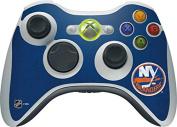 NHL New York Islanders Xbox 360 Wireless Controller Skin - New York Islanders Distressed Vinyl Decal Skin For Your Xbox 360 Wireless Controller