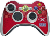 NHL Montreal Canadiens Xbox 360 Wireless Controller Skin - Montreal Canadiens Vintage Vinyl Decal Skin For Your Xbox 360 Wireless Controller