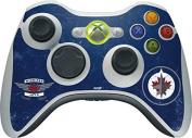 NHL Winnipeg Jets Xbox 360 Wireless Controller Skin - Winnipeg Jets Distressed Vinyl Decal Skin For Your Xbox 360 Wireless Controller