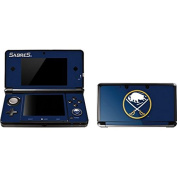 NHL Buffalo Sabres 3DS Skin - Buffalo Sabres Solid Background Vinyl Decal Skin For Your 3DS