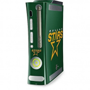 NHL Dallas Stars Xbox 360 (Includes HDD) Skin - Dallas Stars Solid Background Vinyl Decal Skin For Your Xbox 360