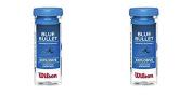 Wilson Blue Bullet Racquetball Balls