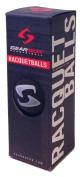 Gearbox Sleek Black Racquetballs 3 Ball Pack