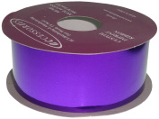 ACI PARTY AND SPIRIT ACCESSORIES Metallic Mylar Ribbon, Size #9, 25 yd. Roll, Purple