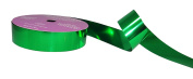 ACI PARTY AND SPIRIT ACCESSORIES Metallic Mylar Ribbon Size, #5, 25 yd. Roll, Green