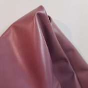 NAT Leathers Blush Pink Vegetable Tanned Crafting Calf Cowhide Genuine Leather Hide Skin 14 to 1.7sqm 2.0 -70ml