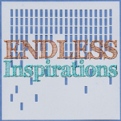 Endless Inspirations Original Stencil, 15cm x 15cm , Falling Blocks