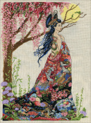 Design Works Counted Cross Stitch Kit- Queen of Silk