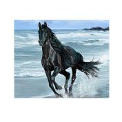 5D Diamond DIY Painting Kit,Awakingdemi DIY Crystal Diamond Painting Running Horse Home Decor Craft