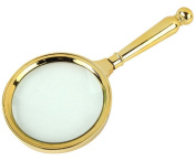 PROW® Classical 90mm 8X Hand held Reading Glass Jewellery Loupes Magnifying Lens Viewing Magnifier