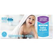 Berkley Jensen Unscented Baby Wipes, 800 ct.