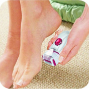 RemedyBeauty New 3 In 1 Callus Remover With Extra Lady Epilator & Shaver Head Speed of 2200rm