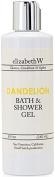 elizabethW Dandelion Bath and Shower Gel