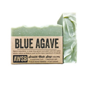 A Wild Soap Bar Blue Agave Natural Soap