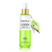 Wild Ferns Lanolin Body Oil with White Tea and Vanilla