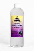 Squalane Oil Organic Olive-Derived Anti-Ageing Moisturiser Cold Pressed Undiluted Premium 100% Pure 950ml