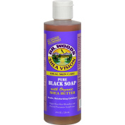 Dr. Woods Shea Vision Pure Black Soap with Organic Shea Butter - Ideal Skin Care - 240ml