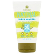 Safe Harbour Natural Sheer Mineral Sunscreen Lotion SPF 50 120ml