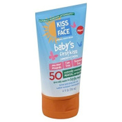 Kiss My Face Mineral Sunscreen Baby's First Kiss Pampering Lotion 120ml