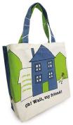 Shinzi Katoh Zipper Tote Bag - searching