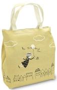 Shinzi Katoh Zipper Tote Bag - back in the Sky