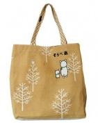 Shinzi Katoh Solar Bear bag - grove