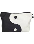 Ying Yang Printed Cosmetic Bag for Women and Men