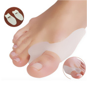 Warmter 4PCS Big Toe Protectors For Bunions Treatment Bunion Gel Toe Separators Bunion Relief