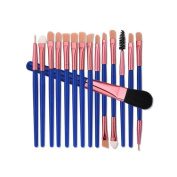 Toraway 15PCS Cosmetic Makeup Brush Brushes Set Foundation Powder Eyeshadow Cosmetic Tool
