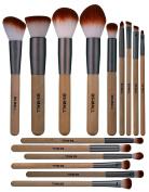 BS-MALL Makeup Brushes Basic Eyeshadow Lip Foundation Makeup Brush Set