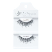 Kara Beauty Human Hair Eyelashes - D-WISPY