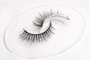 Flipped Lashes Rose 100% 3D Mink Fur False Eyelashes Cruelty Free, Premium Quality Reusable Clustered Lashes