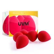 UVM 5pcs - Mini Precision Beauty Makeup Sponge Beauty Sponge Blender in Applicators, Blend Foundation Sponge 36 x 26mm