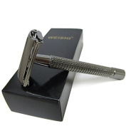 Long Handle Butterfly Version That Opens with Double Edge Safety Razor