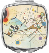 Kandinsky Composition 8 Compact Makeup Mirror