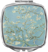 Apple Blossoms (Van Gogh) Compact Makeup Mirror