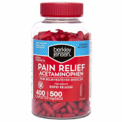 Berkley Jensen Rapid Release Extra Strength Acetaminophen Caplets, 400 ct.