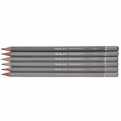 6 Assorted Technical Drawing Pencil Set