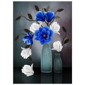 Diamondo Magnolia Vase 5D Diamond DIY Painting Craft Kit Rhinestone Home Wall Decor