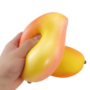 Superland 17cm Jumbo Soft Squishy Mango Super Slow Rising Scented Bread Toy Gift